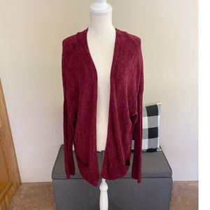 NWT Cotton Emporium Cardigan Sweater With Pockets